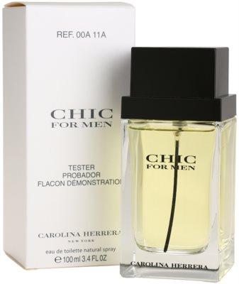 Carolina Herrera Chic For Men toaletní voda tester pro muže 2