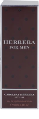 Carolina Herrera Herrera For Men Eau de Toilette pentru barbati 4