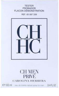 Carolina Herrera Men Privé eau de toilette teszter férfiaknak 2