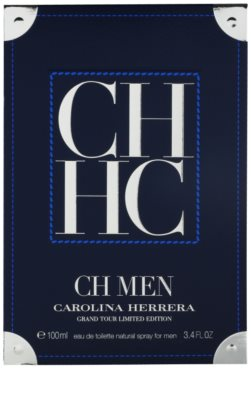 Carolina Herrera CH Men Grand Tour eau de toilette férfiaknak 1