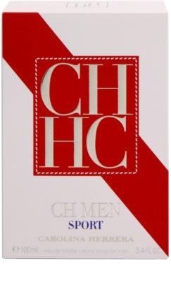 Carolina Herrera CH CH Men Sport Eau de Toilette para homens 4
