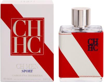 Carolina Herrera CH CH Men Sport Eau de Toilette para homens