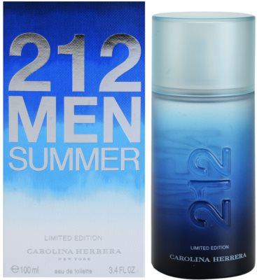 Carolina Herrera 212 Men Summer Eau de Toilette für Herren