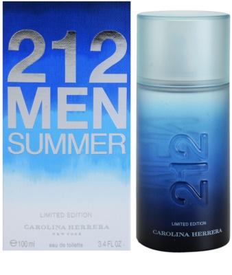 Carolina Herrera 212 Men Summer Eau de Toilette pentru barbati