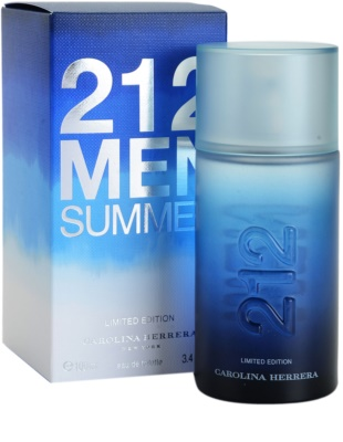 Carolina Herrera 212 Men Summer eau de toilette férfiaknak 1