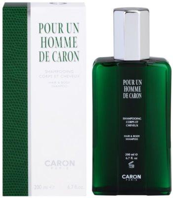 Caron Pour Un Homme gel de dus pentru barbati