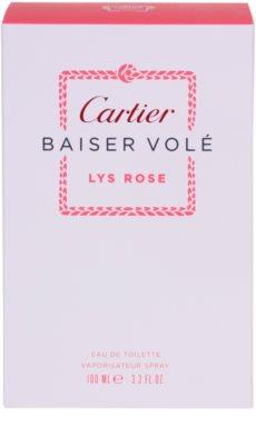 Cartier Baiser Volé Lys Rose eau de toilette para mujer 4