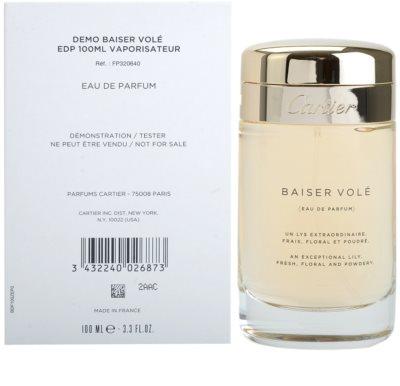 Cartier Baiser Volé eau de parfum teszter nőknek 2