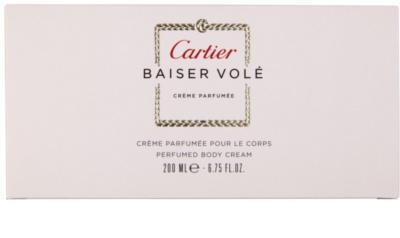 Cartier Baiser Volé Körpercreme für Damen 3