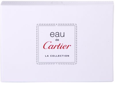 Cartier Eau de Cartier La Collection dárková sada 2