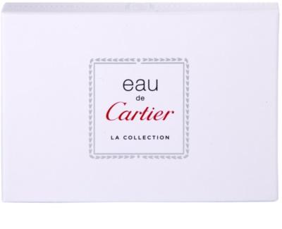 Cartier Eau de Cartier La Collection zestaw upominkowy 2