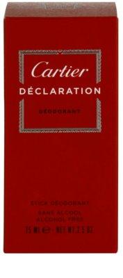 Cartier Declaration desodorizante em stick para homens 4