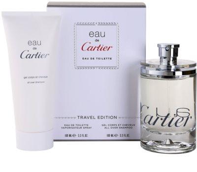 Cartier Eau de Cartier dárková sada