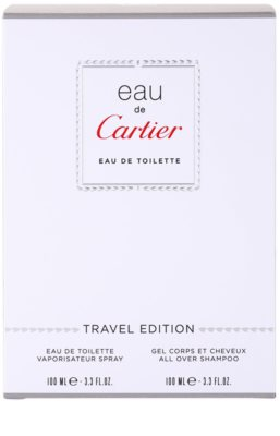Cartier Eau de Cartier darilni set 3