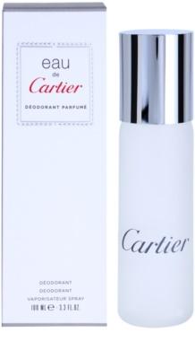 Cartier Eau de Cartier deodorant Spray unissexo