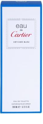 Cartier Eau de Cartier Vetiver Bleu toaletní voda unisex 4