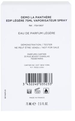 Cartier La Panthere Legere woda perfumowana tester dla kobiet 3