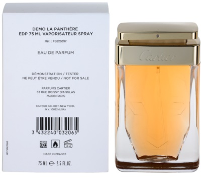 Cartier La Panthere parfémovaná voda tester pre ženy 1