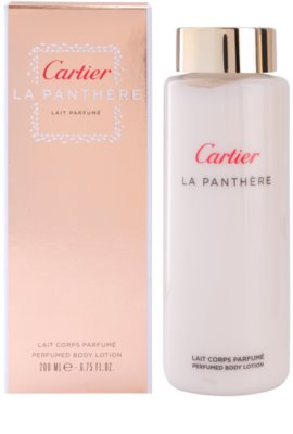 Cartier La Panthere leite corporal para mulheres