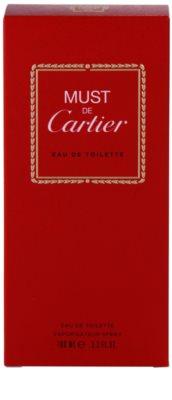 Cartier Must De Cartier Eau de Toilette für Damen 3
