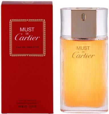 Cartier Must De Cartier Eau de Toilette pentru femei