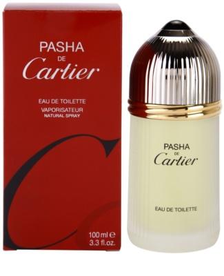 Cartier Pasha toaletna voda za moške