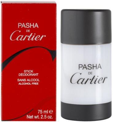 Cartier Pasha desodorizante em stick para homens
