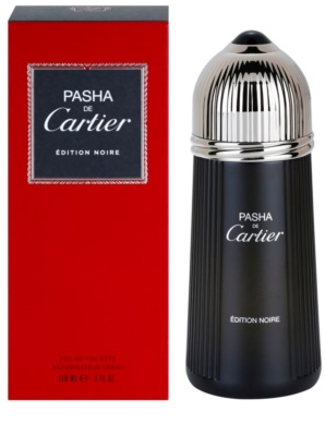 Cartier Pasha de Cartier Edition Noire Eau de Toilette para homens