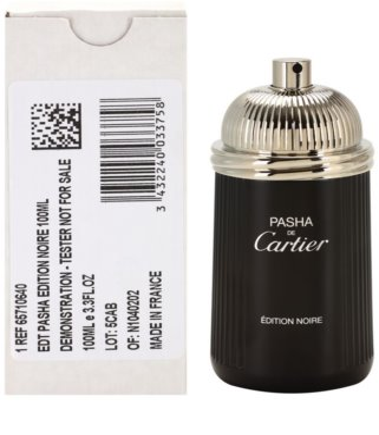 Cartier Pasha de Cartier Edition Noire woda toaletowa tester dla mężczyzn 1