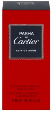 Cartier Pasha de Cartier Edition Noire deodorant Roll-on para homens 3