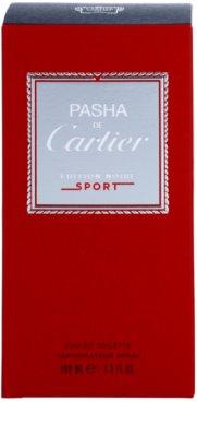 Cartier Pasha de Cartier Edition Noire Sport Eau de Toilette für Herren 4