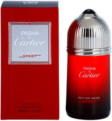 Cartier Pasha de Cartier Edition Noire Sport toaletní voda pro muže