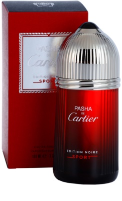 Cartier Pasha de Cartier Edition Noire Sport Eau de Toilette für Herren 1