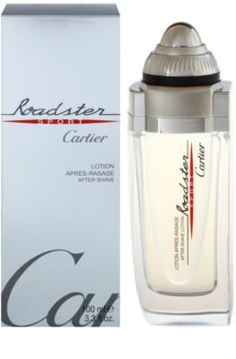 Cartier Roadster Sport borotválkozás utáni arcvíz férfiaknak