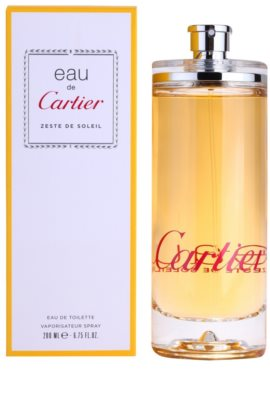 Cartier Eau de Cartier Zeste de Soleil toaletna voda uniseks