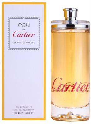 Cartier Eau de Cartier Zeste de Soleil woda toaletowa unisex