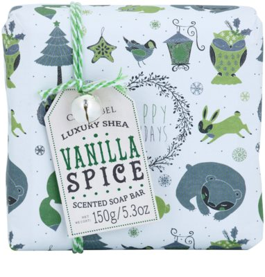Castelbel Vanilla Spice Happy Holidays luxusné portugalské mydlo