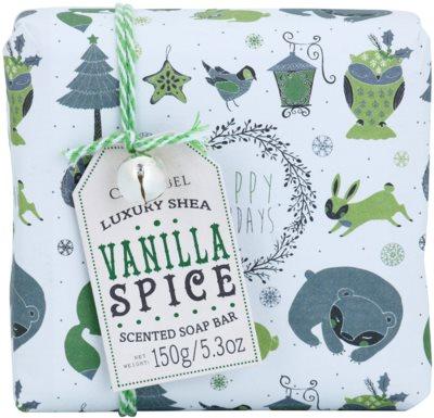 Castelbel Vanilla Spice Happy Holidays luxusní portugalské mýdlo