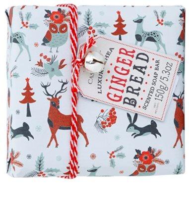 Castelbel Ginger Biscotti Happy Holidays luksusowe mydło portugalskie