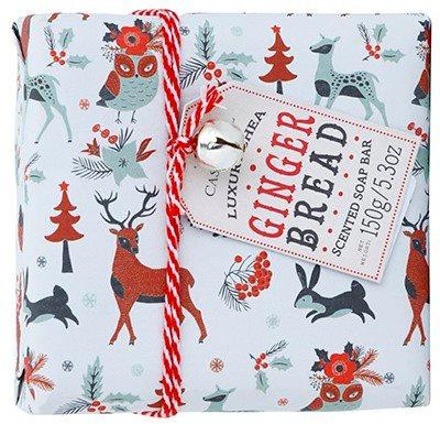 Castelbel Ginger Biscotti Happy Holidays portugál luxus szappan