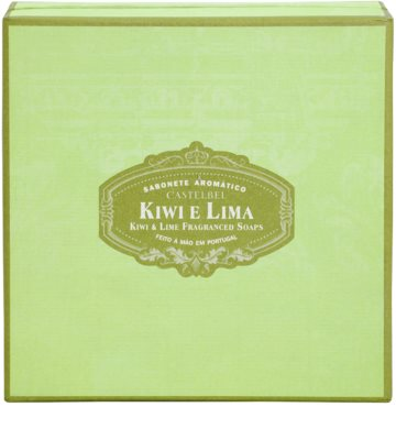 Castelbel Kiwi & Lime portugiesische Luxusseife 1