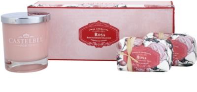 Castelbel Rose lote de regalo