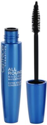 Catrice Allround hosszabbító, göndörítő és dúsító szempillaspirál vízálló