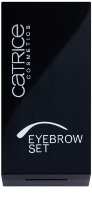 Catrice Prime And Fine kit para sobrancelhas 1