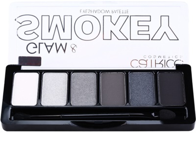 Catrice Glam & Smokey paleta farduri de ochi pentru un machiaj fumuriu