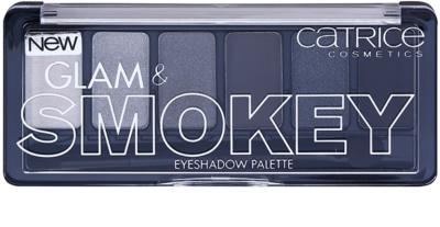 Catrice Glam & Smokey szemhéjfesték paletták füstös sminkhez 1
