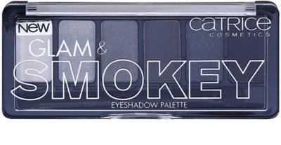 Catrice Glam & Smokey paleta farduri de ochi pentru un machiaj fumuriu 1