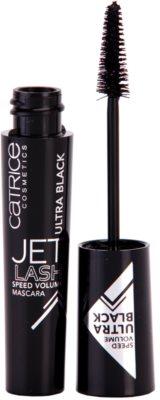 Catrice Jet Lash Speed Volume Volumenmascara mit Verlängerungseffekt und Wimperntrennung
