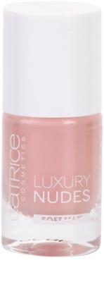 Catrice Luxury Nudes Soft Matt jól fedő körömlakk