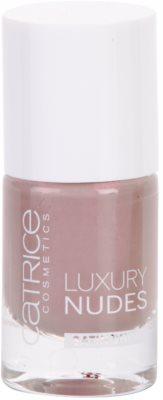 Catrice Luxury Nudes Satin Shine lac pentru unghii foarte opac